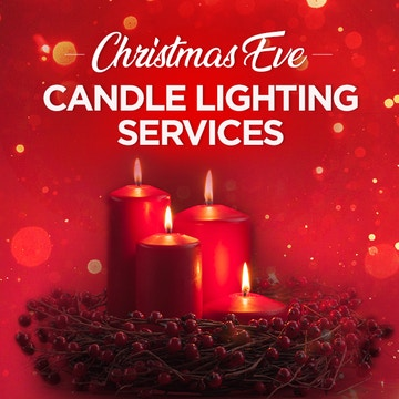 Christmas Eve Candle Lighting Services 2019