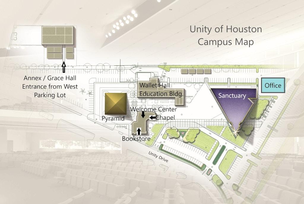 Campus Map Unity Of Houston